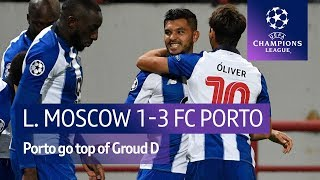 Lokomotiv Moscow vs FC Porto (1-3) UEFA Champions League highlights