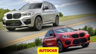 2019 BMW X3 M on road & X4 M on track - performance SUVs Driven | Autocar