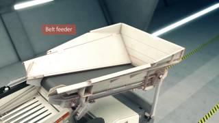 Metso Lokotrack® ST2.8™ mobile scalping screen