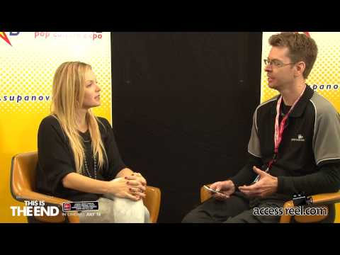 Supanova Perth 2013 Vlog 7 - Interview Clare Kramer