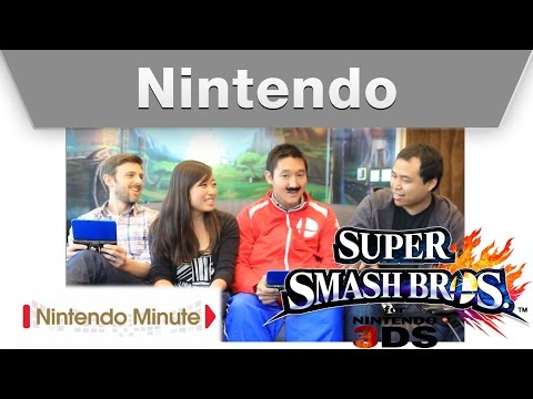 Nintendo Minute: Smash-tember Super Smash Bros. for Nintendo 3DS