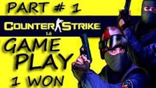 / Counter Strike  Game play de dust  Part #1 In [Urdu/Hindi]