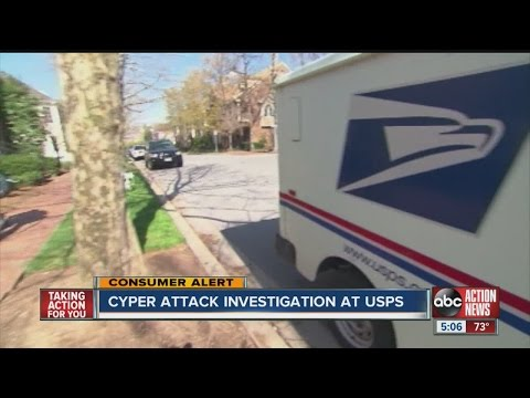 US Postal Service says it is victim of hacking attack