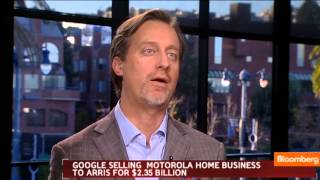 Google Selling Motorola Home Business for $2.35B