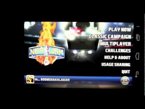 NBA Jam Android App Review - CrazyMikesapps