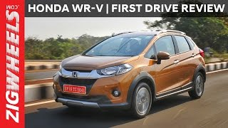 Honda WR-V (WRV)   First Drive Review   ZigWheels.com