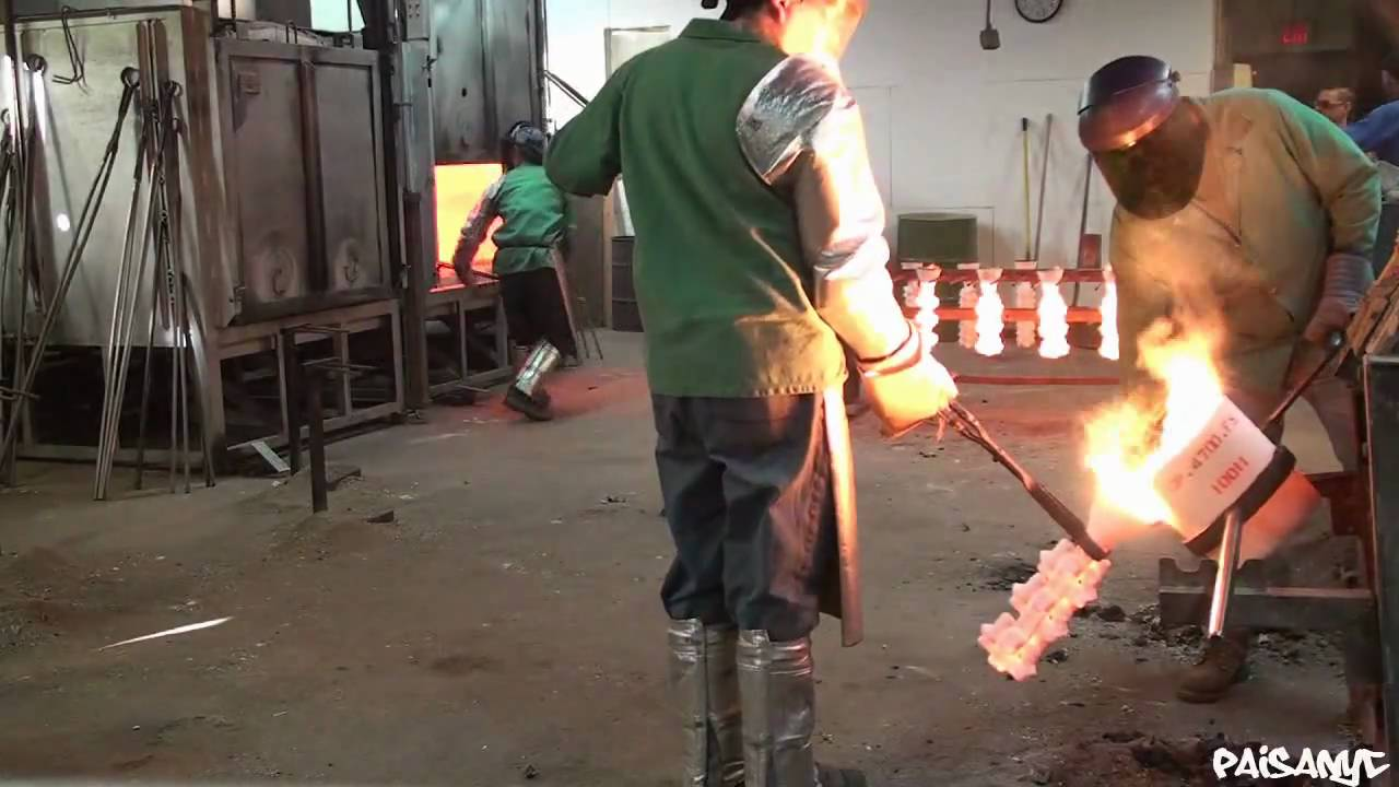 Cast In Steel : Casting steel in a foundry youtube