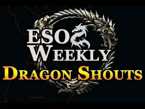 Elder Scrolls Online Weekly - Dragon Shouts, Coldharbour & Lore
