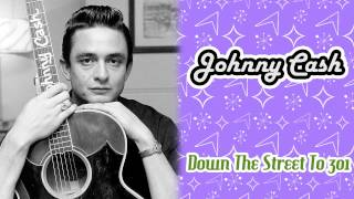 Watch Johnny Cash Down The Street To 301 video
