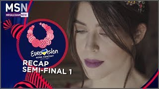 Eurovision Song Contest 2017 (Recap of Semi - Final 1)