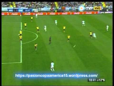 Argentina 1 Jamaica 0 (Relato Saul Pomaraz)  Copa America 2015