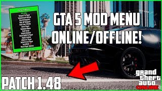 GTA 5 Online   How To Install Mod Menu On Patch 1.48! (Xbox One, PS4. XB360, & PS3)   NEW 2019!