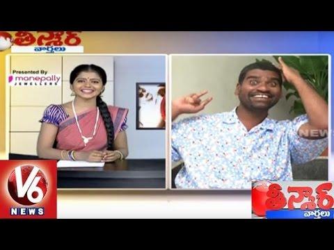 Bithiri Sathi Funny Conversation with Savitri over China, Hindi Language - Teenmaar News