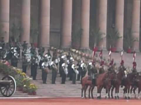 Indian National Anthem:President's Body Guard, New Delhi