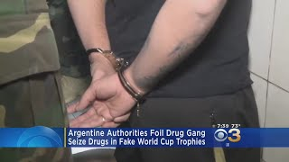 Argentine Authorities Foil Drug Gang, Seize Drugs In Fake World Cup Trophies