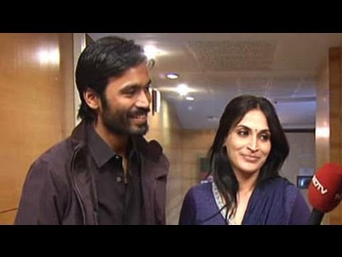 In conversation with Dhanush, Aishwarya