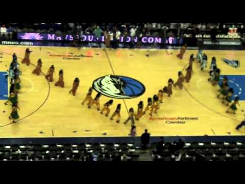 BollywoodTrainer.Com Performs at the Dallas Mavericks VS Chicago Bulls Game