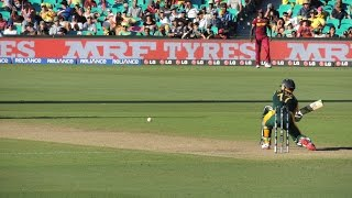 AB de Villiers 162* (66) - Sth Africa v WI, SCG, WCup 27/2/15 (b)