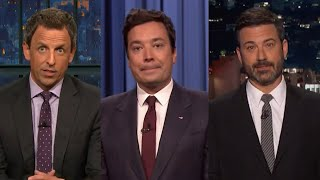 Late Night Hosts Deliver Somber Monologues to Address 'Disgusting' Charlottesville Violence