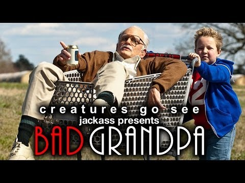 Creatures Go See Bad Grandpa Movie Trip