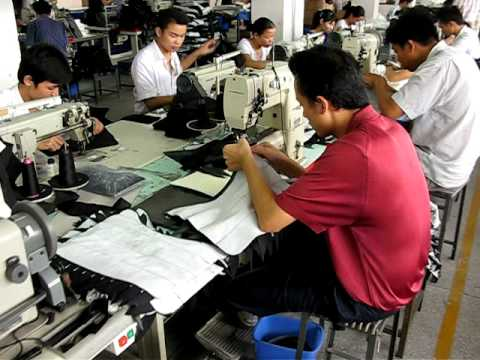 Women's Handbag Production Line   Formosa Shiwan China Factory