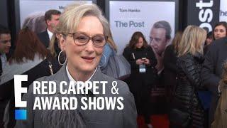 "Meryl Streep Responds to Tom Hanks' ""High Maintenance"" Remark | E! Live from the Red Carpet"
