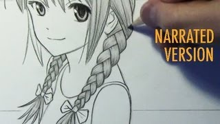 How to Draw Braids (Narrated Step by Step)