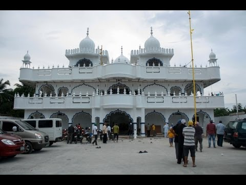 Opening Ceremony of SAT KARTAR INDIAN SIKH TEMPLE ,SAN PABLO ,LAGUNA (Philippines)