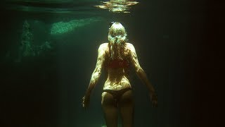 beautiful swimming underwater by Karina ~ the Blushing Caribbean