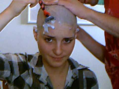 shaving my beautiful hair - גילוח שיער