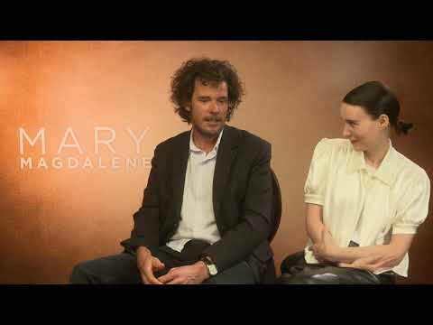 "Sarina Bellissimo interviews Rooney Mara & Garth Davis (""Mary Magdalene)"