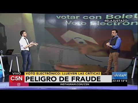 Peligro de fraude: el informe que revela las fallas del voto electrónico
