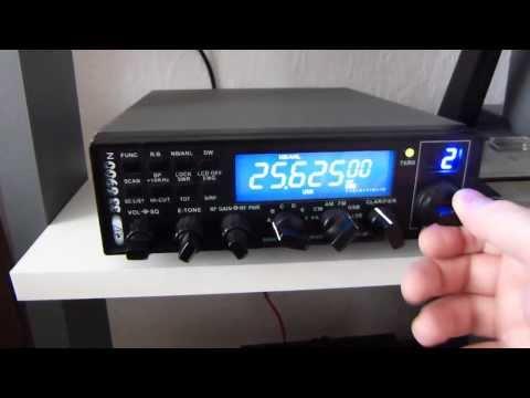 Citizen Band : Programmation du CRT SUPERSTAR 6900N