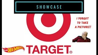 Showcase - Hot Wheels 2018 Target Exclusives Red Edition Series