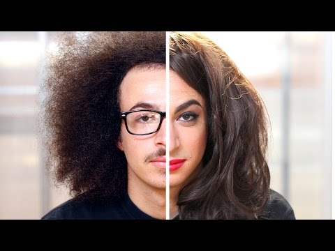 Men Try Women's Makeup For The First Time video