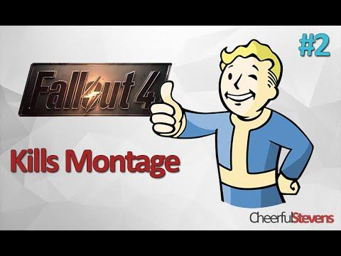 Fallout 4 Kills Montage/ Монтаж Убийств
