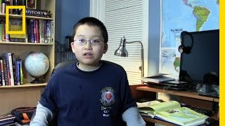 National Geographic Bee 2013 - OH Finalist