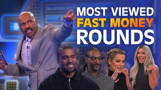 TOP 10 MOST-VIEWED FAST MONEYS EVER!   Family Feud
