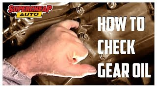 How to - Check Gear Box Oil // Supercheap Auto