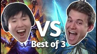 (Hearthstone) Kibler VS Disguised Toast: Best of 3 Meme Mastery