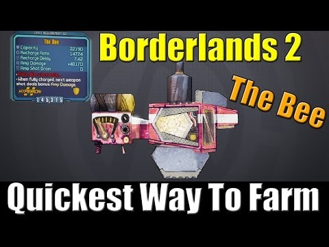 Borderlands 2 Quickest Way to Farm the Bee Shield - Easiest and Best Method - Tips and Tricks