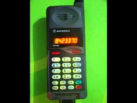 Toque Para Celular Telefone Antigo Youtube