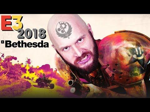 Конференция Bethesda на E3 2018: Fallout 76, TES VI, Rage 2