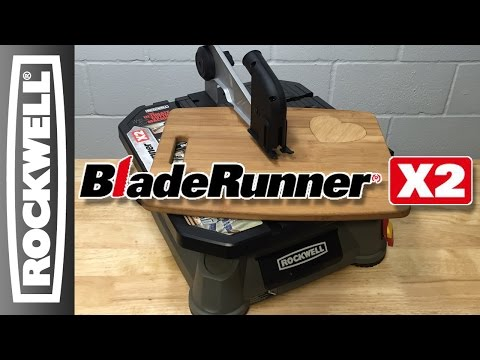 Rockwell BladeRunner X2 Portable Tabletop Saw - Cutting Board Project