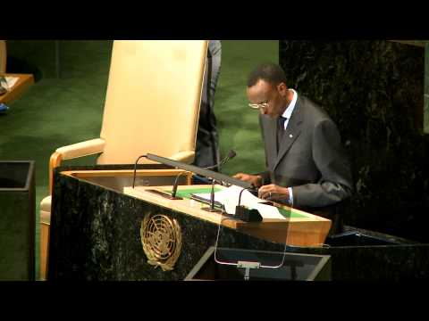 President Kagame addresses UNGA-  New York, 24 September 2010
