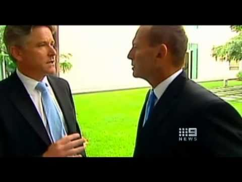 Tony Abbott's bizzarre 28 second silence following