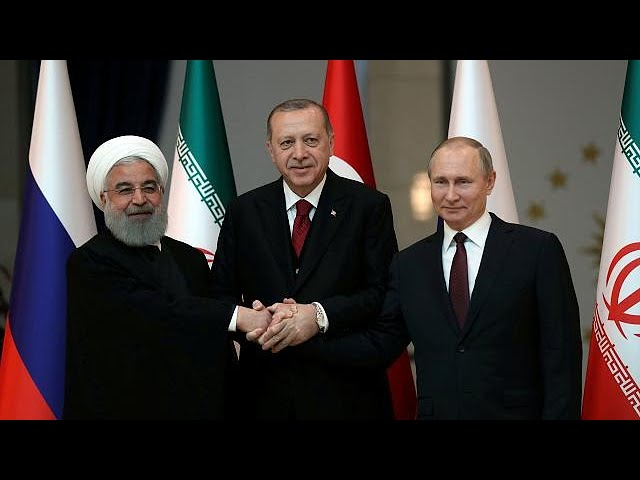 Iran, Turkey and Russia meet for Syria summit