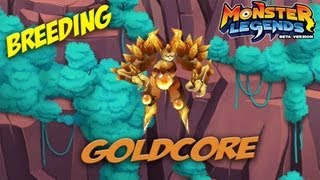Monster Legends - How To Get Goldcore