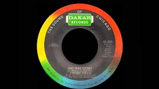 Watch Tyrone Davis Oneway Ticket video