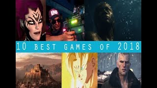 10 awesome games of 2018